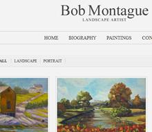 Bob J. Montague, Landscape Artist